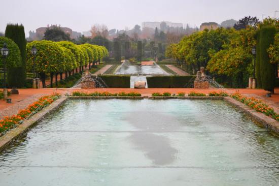 Alcazar gardens Cordoba