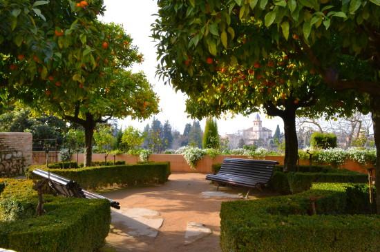 Generalife gardens Granada