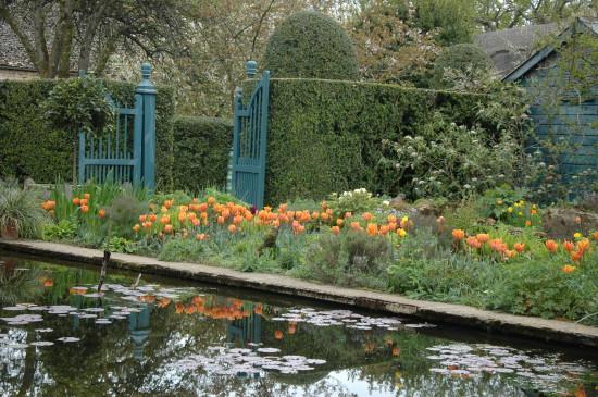 hidcote lily pond garden