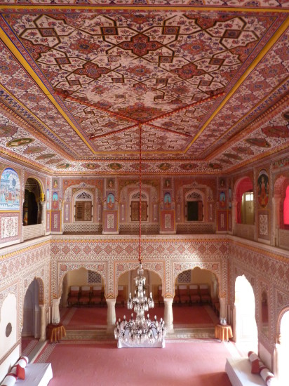 Samode Palace Rajasthan India