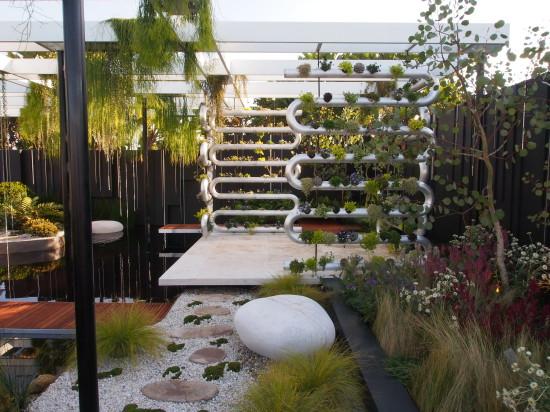Best in Show at Australian Garden Show Sydney was Brendan Moar's 'Suspended'