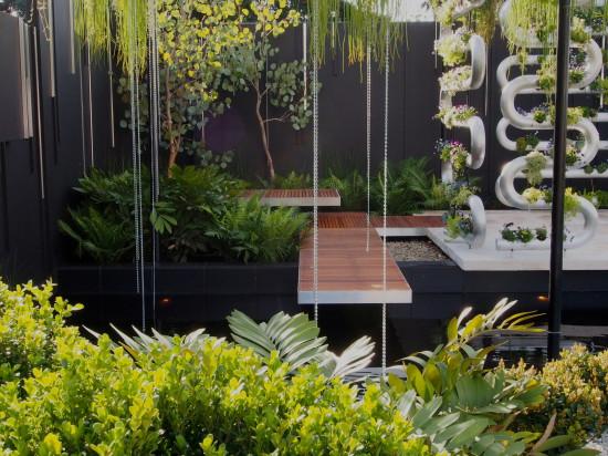 Suspended by Brendan Moar, Best in Show, Australian Garden Show Sydney