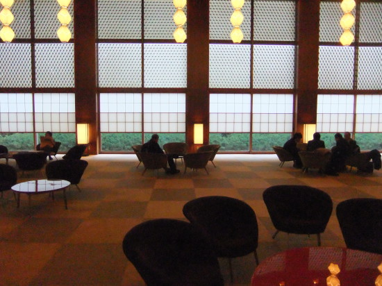 New Otani Hotel Tokyo foyer