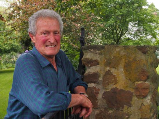 Michael Morrison, Cruden Farm gardener