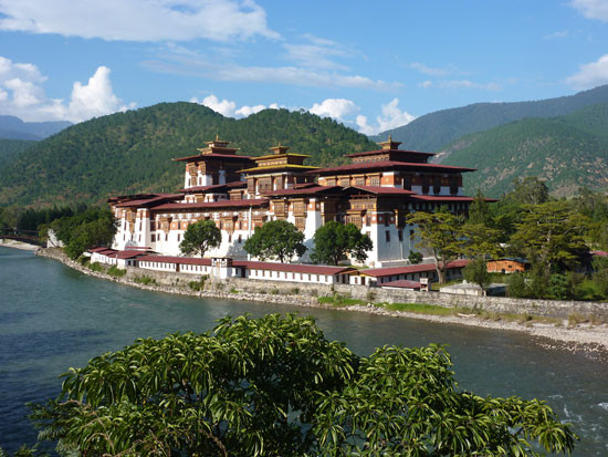 Punakha Dzong Monastery. Photo – Peter Whitehead