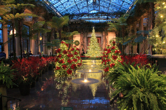 A Longwood Gardens Christmas Ross Garden Tours