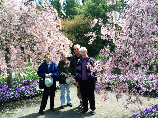 Guests at Tulip Top. Photo - Sandra Ross