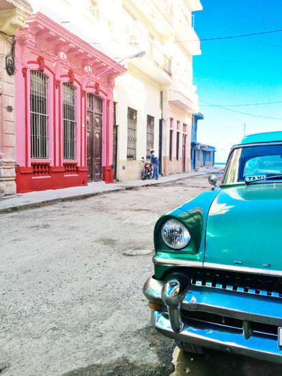 The quintessential Cuba scene we're all familiar with. Photo - Linda Ross