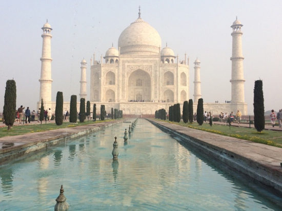 The incredible Taj Mahal. Photo - Libby Cameron